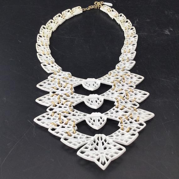Vintage Psychedelic Fractal Necklace - image 6