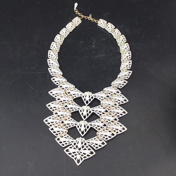 Vintage Psychedelic Fractal Necklace - image 5