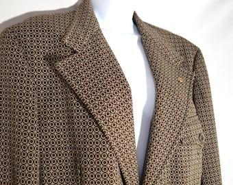 Vintage German Suit Jacket Dark Grey Wool Priok and Wulsten Breslau Schweidn with Technische Hochschule Darmstadt Stamped Ticket pre 1945