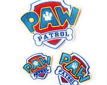 Paw Patrol Iron on Patch - Paw Patrol Applique' - Ready to Ship