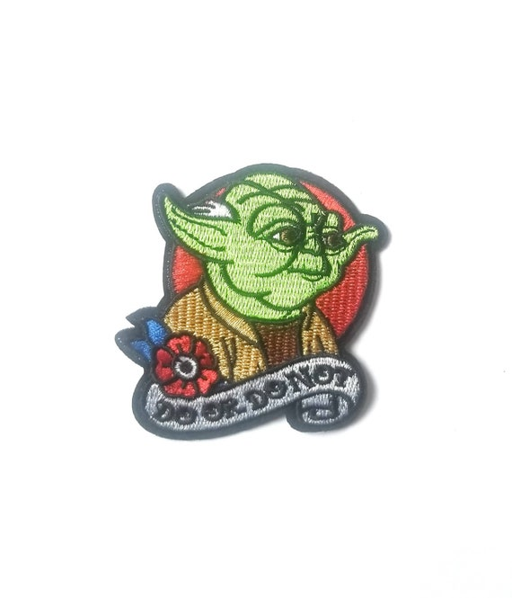 1 Darth Vader Star Wars detail iron on// sew on patch crafts DIY Vadar