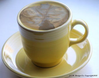 """Photo composite """"Ship In My Coffee"""""""
