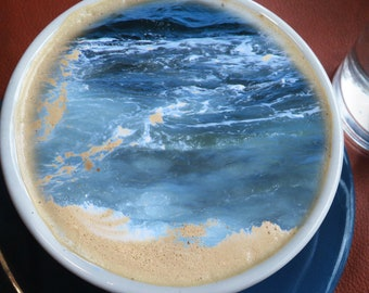 """Photo Composite """" Cup Of Sea"""""""