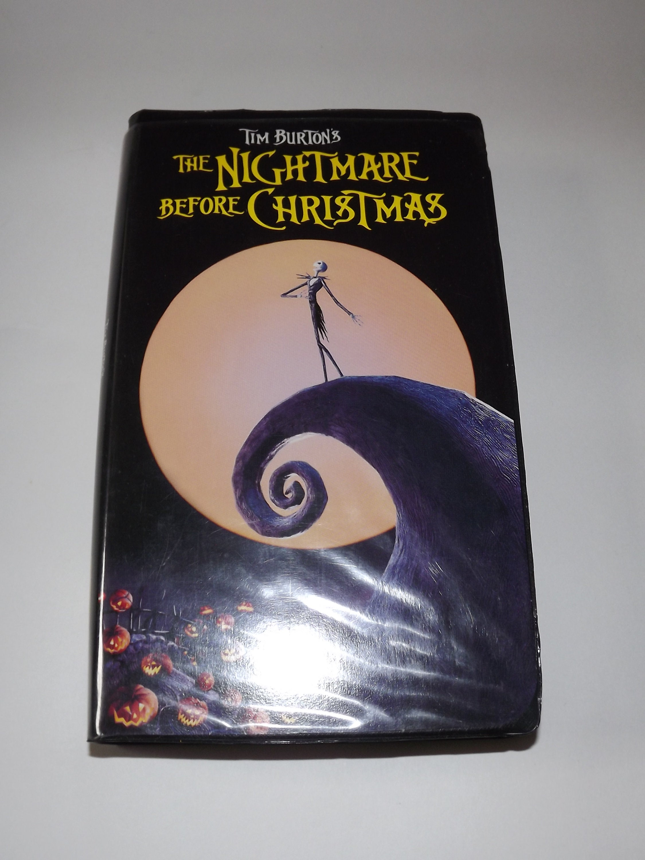 Tim Burton\'s The Nightmare Before Christmas VHS 1993 | Etsy
