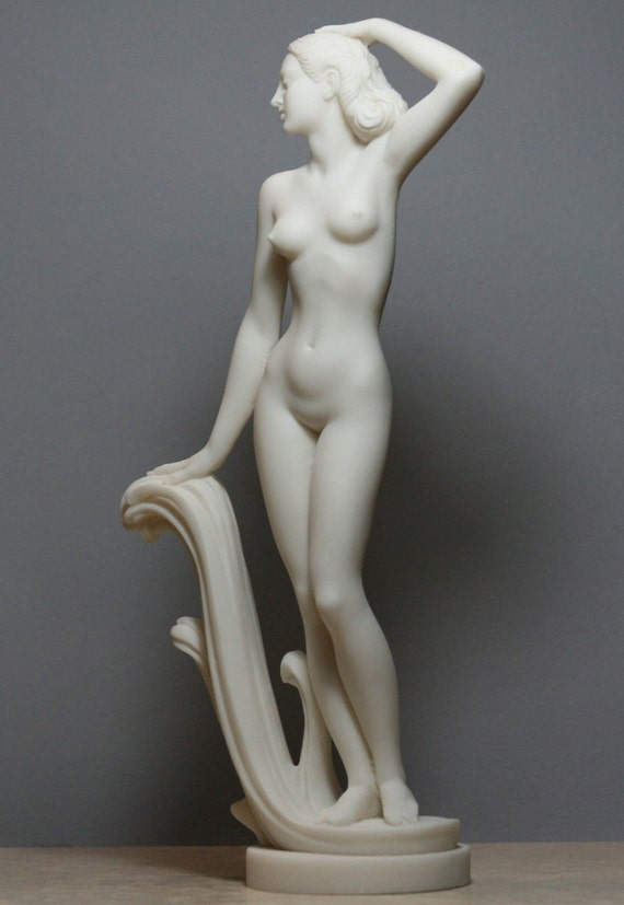 Rising Venus Greek Goddess Aphrodite Statue Marble Free Shipping Tracking
