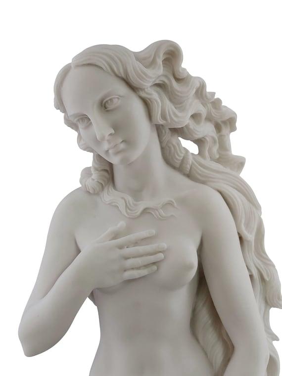 70 cm Goddess Rising Venus Aphrodite Erotic Art Greek Statue Sculpture Nude Female 27.56in