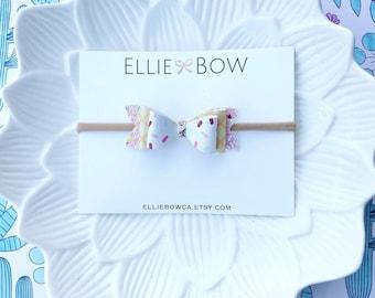 Stacked Ice Cream Bow