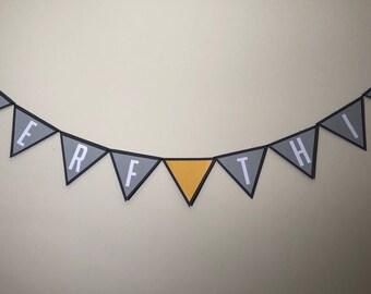 Happy Birthday Overwatch Birthday Banner - Overwatch, Birthday, Party, Banners, Party Decor, Party Supplies, Party, Nerf This