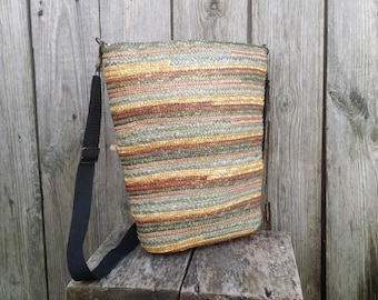Straw bag, Rainbow straw tote, Vintage bag, Shoulder bag, Wicker bag, Women bag, Woven straw bag, Gift for her.