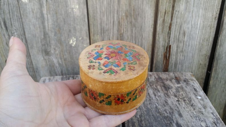 deddd83392ca1 Vintage wooden box, Trinket box, Jewelry box, Rustic wood box, Storage box,  Gift box, Small wooden box, Wooden keepsake box, Decorative box.