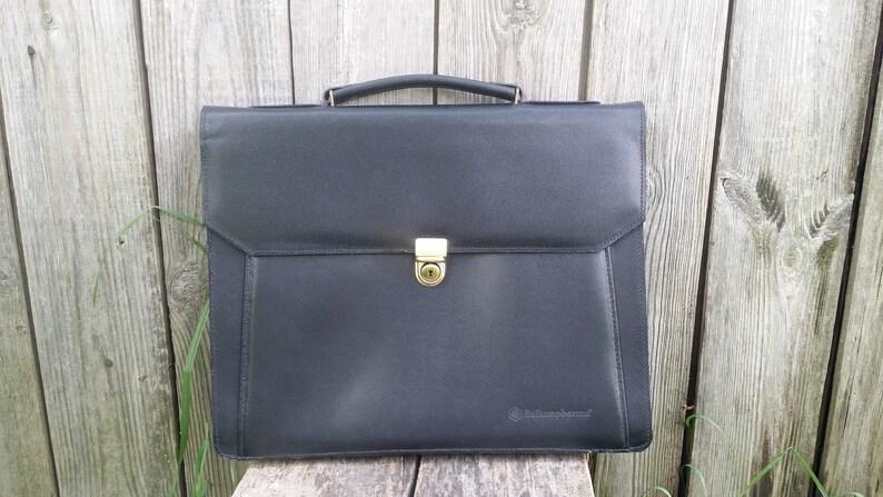 700ab1d5e Vintage messenger bag Briefcase Business bag Laptop bag | Etsy