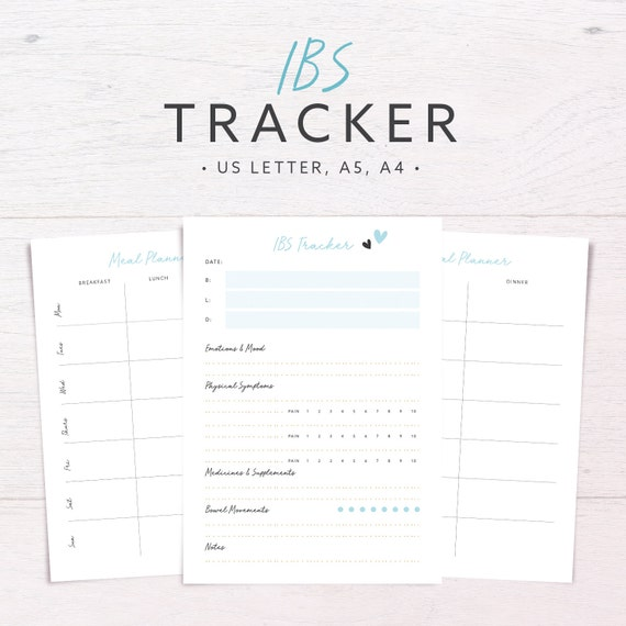 IBS Tracker Food Diary Allergy Diet Meal