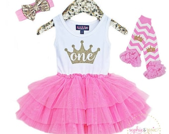 First Birthday Dress, 1st Birthday Outfit Girl, Birthday Princess, Birthday Dress, Girls Tutu Dress, Cake Smash Outfit, Pink Tutu
