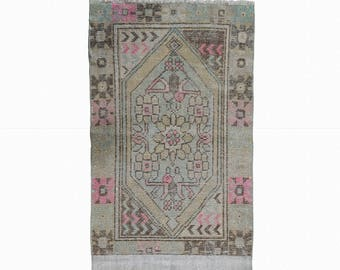 Turkish Oushak Runner Rug Turkish Red Hallway Runner Rug FREE SHIPPING! / 2'3''x8'ft