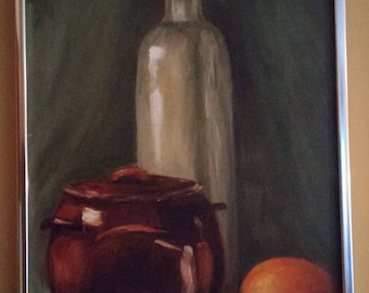 Original Pauline Flowers Oil Painting