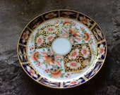 Antique Derby Porcelain Imari Pattern Cabinet Dish 1836-1866
