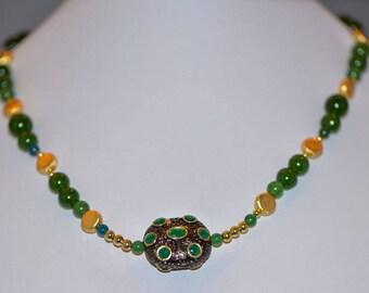 Emeralds and Serpentine