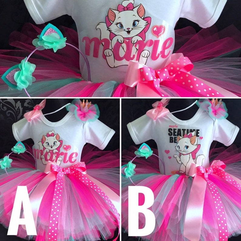 e7698e20a9e315 Anniversaire party Robe tutu jupe kitty marie kitty cartoon rose costume de  tutu vert menthe Tiffany 1er anniversaire ensemble en tulle tutu rose chat  ...