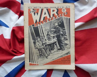 WW2 The Blitz. 1940 The War Illustrated Magazine, General De Gaulle, London Bombings, Czech Airmen, Battles in North Africa, Britain's Navy