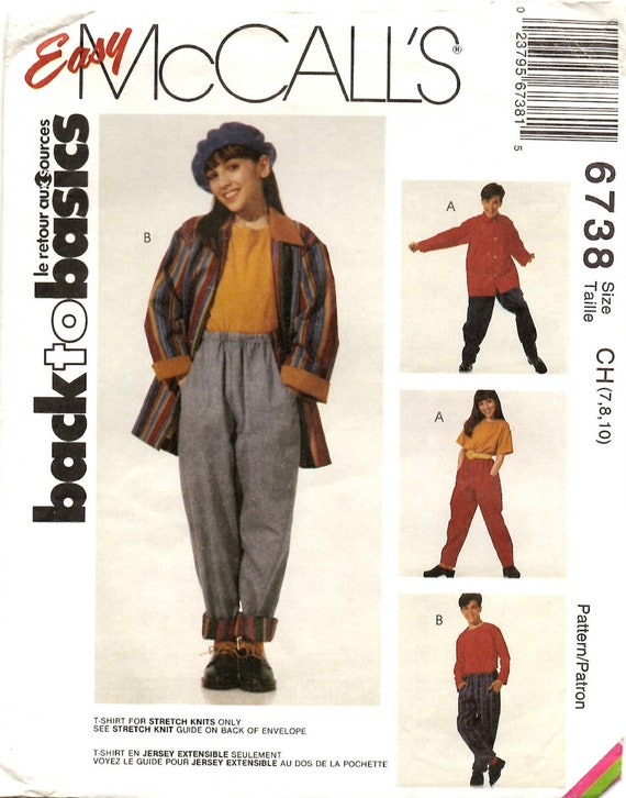 Reduced! McCall/'s 4641 Infant Tops Dresses Pants /& Hats Pattern