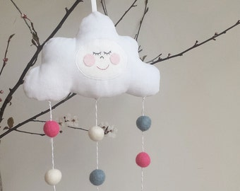 Sleepy Cloud Decoration