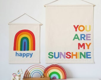 You Are My Sunshine banner, wall hanging