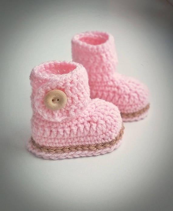 Mädchen Babyschuhe Häkeln Babyschuhe Mädchen Babyschuhe Etsy