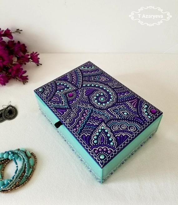 Purple Jewelry Box Gift Ideas Birthday For Her