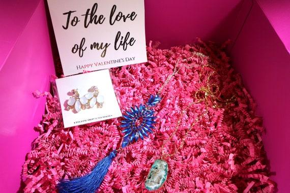 Valentines Day Gift Box For Women Birthday Basket