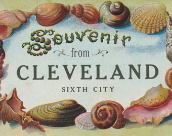 Ohio lot of 5 Vintage postcards, Cleveland, Luna Park, Sixth City, Bellevue, Hamilton, St Martin Unused...(lot230)