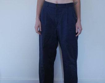 Docker Navy Pants