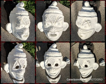 John Wayne Gacy's Sock Monkey Mask RAW CAST