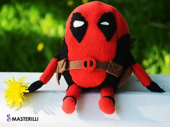 Deadpool toy minion pattern toy sewing pattern superhero | Etsy