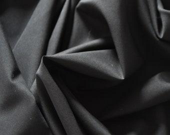 LINING - matte, slightly elastic - black