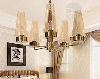 Pendant chandelier Alvoco