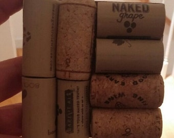 Wine cork coasters set of 4