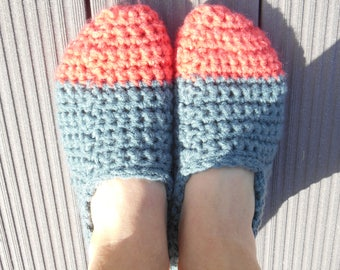 knitted slippers, slippers, slippers, knitted, ballerinas relax slippers, indoor slippers