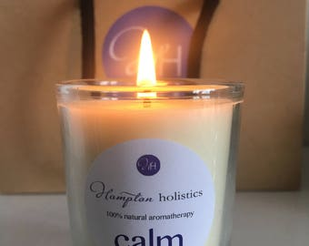 Aromatherapy candle 'Calm' travel size