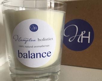 Aromatherapy candle 'Balance'