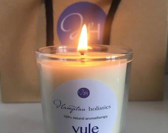Aromatherapy candle 'Yule' travel size