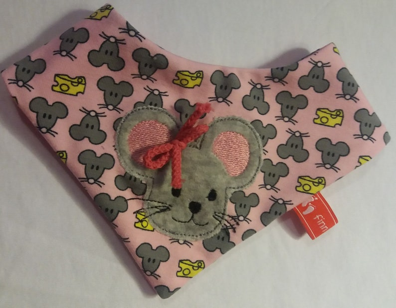 Baby Scarf Children/'s scarf drool protection mouse