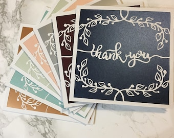 Thank you card vines