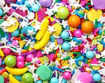 Nae Nae Sprinkle Blend, Banana Sprinkles, Neon Sprinkles, Party Sprinkles, Fancy Sprinkles, Rainbow Sprinkles, Lime Sprinkles