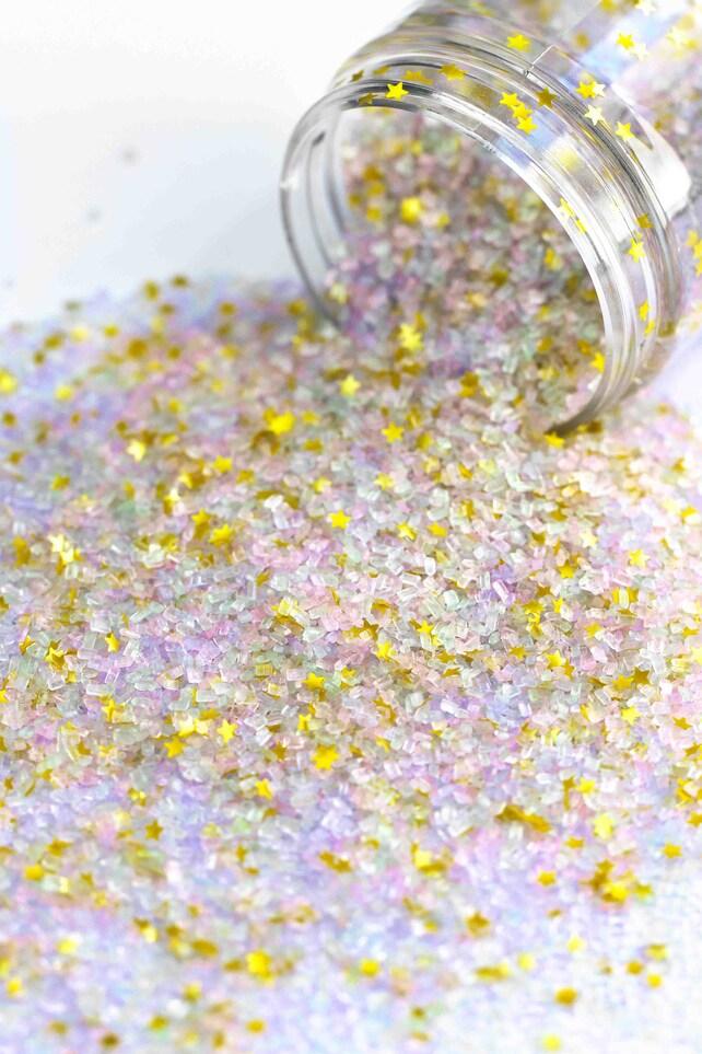 Einhorn Staub ausgefallene Glitter Zuckerkristalle essbar | Etsy