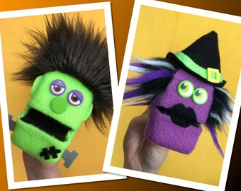 Halloween Chippers - Novelty Puppets - Gift Card Holders