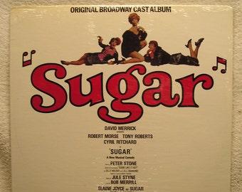 Sugar Sealed Original Broadway Cast Vinyl Record  33 rpm   Album Stars  Robert  Morse, Tony Roberts & Elaine Joyce UA Records # 9905 Stereo