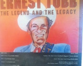 Ernest Tubb The Legend And The Legacy Sealed V A Country Record Album Willie Nelson George Jones Johnny Cash