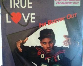 True Love I'M Bustin Out Sealed Vinyl Hip Hop Record Album