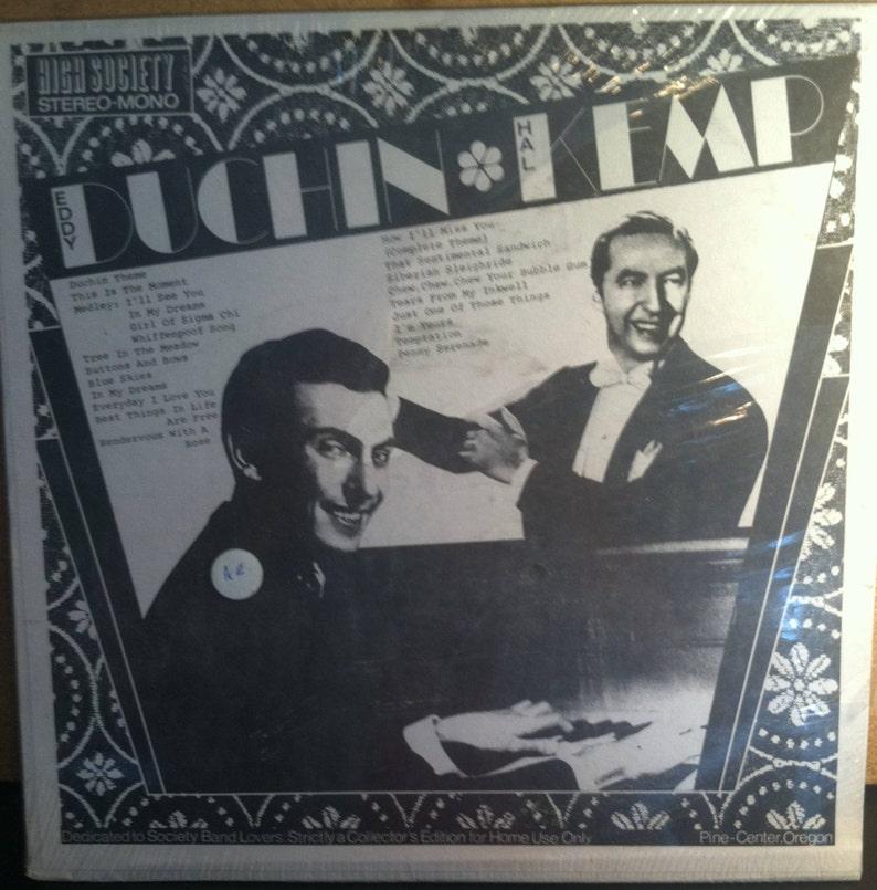Eddy Duchin Hal Kemp Sealed Vinyl Big Band Jazz Record Album