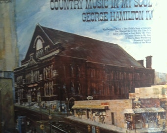 George Hamilton IV Country Music In My Soul Sealed Vinyl Country Record Album